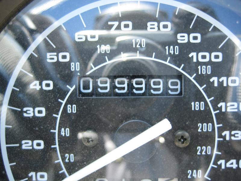 99,999 Miles<br /> 08-18-2007