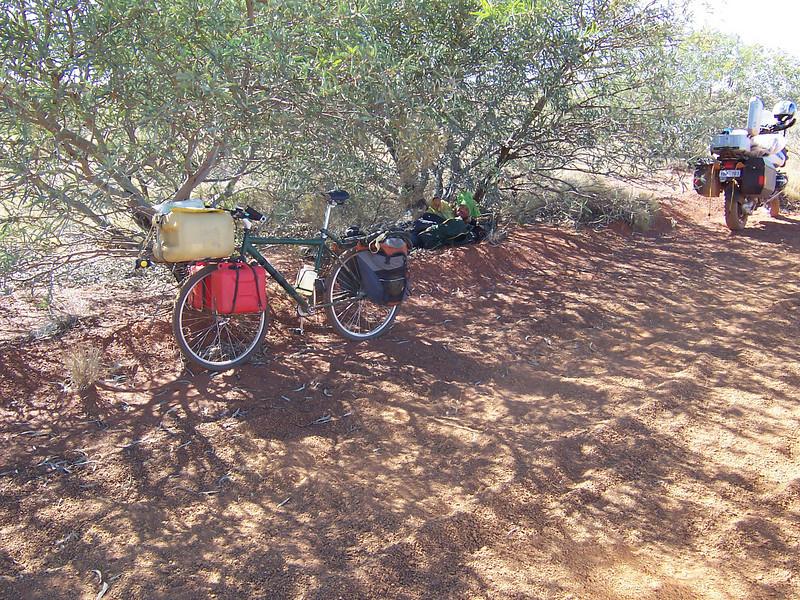 Crazy cyclist - Gunbarrel Highway