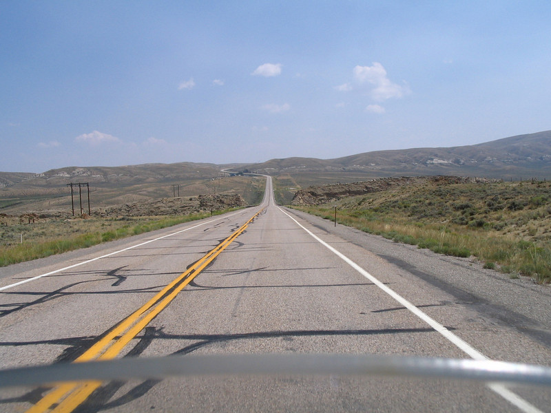 US 30 heading East to Medicine Bow