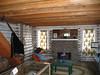 Owen Wisters cabin interior.