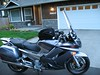 "The Cal-Sci XL windscreen added 4.5 inches to the height. Much quieter than stock.  I am 6'1""<br /> <br />  <a href=""http://www.calsci.com/motorcycleinfo/FJR1300prod.html"">http://www.calsci.com/motorcycleinfo/FJR1300prod.html</a>"