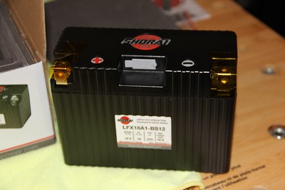 Shorai Battery Installation