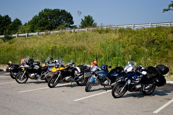 Yankee Beemers Ride - August 16, 2009