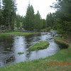 Would have loved to pitch a tent on the banks.  This is the Firehole River.
