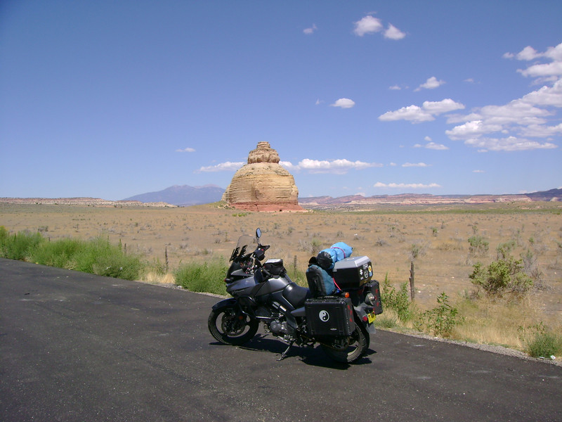 40 miles south of moab