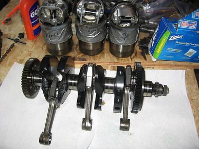 Crankshaft, pistons...ziplocs...