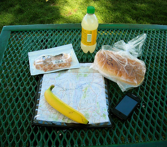 Lunch in the park - Ely, NV