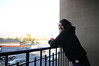 Erin enjoying the view.