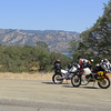 Lake Berryessa and a little hot weather riding.