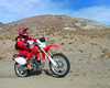 Gill on his CRF.