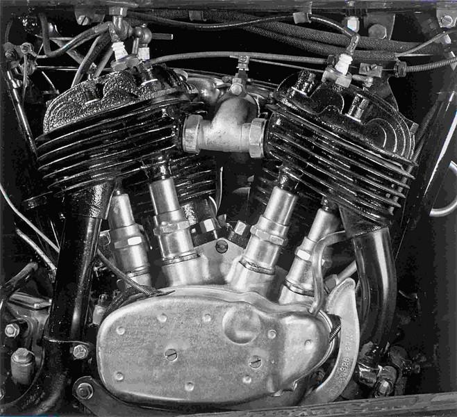 1929 Harley-Davidson DL.