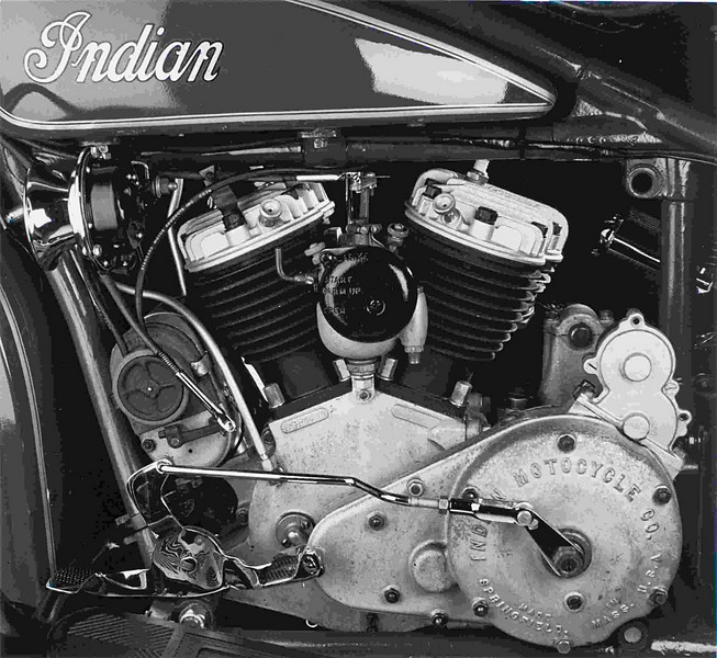 1929 Indian 101 Scout.