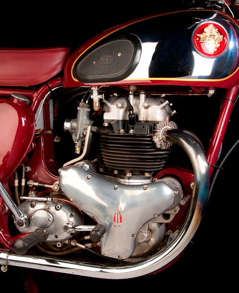 1956 BSA A7 500cc