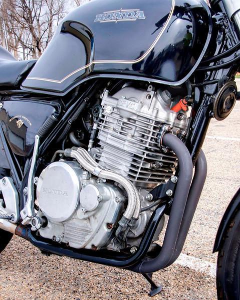 1989 Honda 500 single