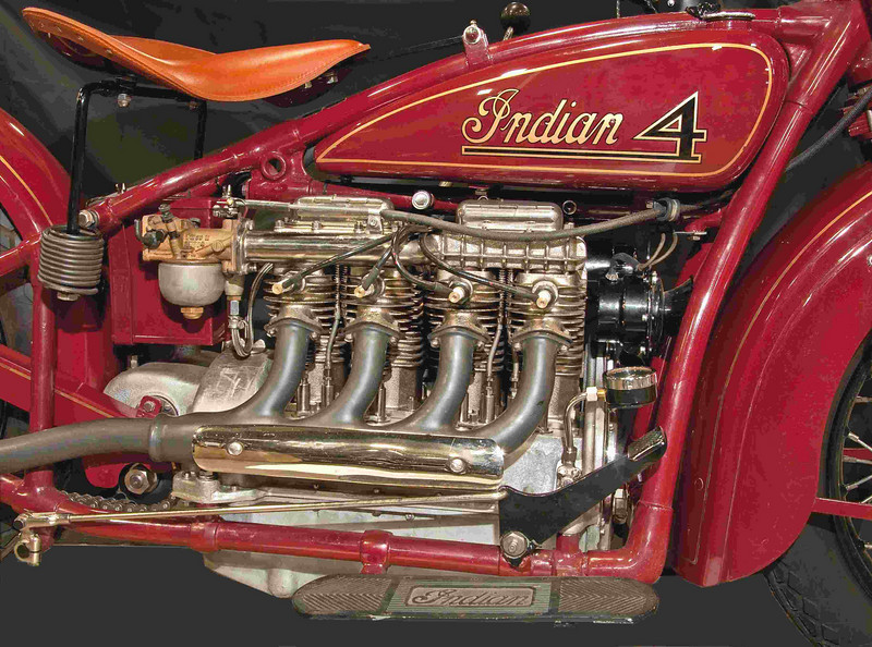 1930 Indian Four 1265 cc.