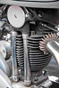 1939 Triumph T80 350cc, a close look at the engine.