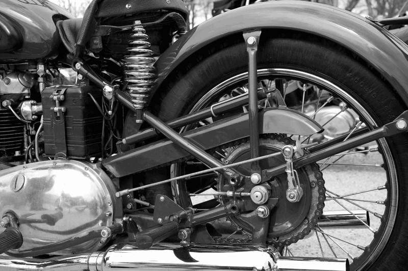 1953 Triumph 5T Speedtwin 500 cc