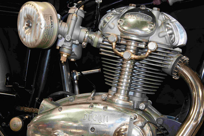 1965 Ducati 250 cc Scrambler.