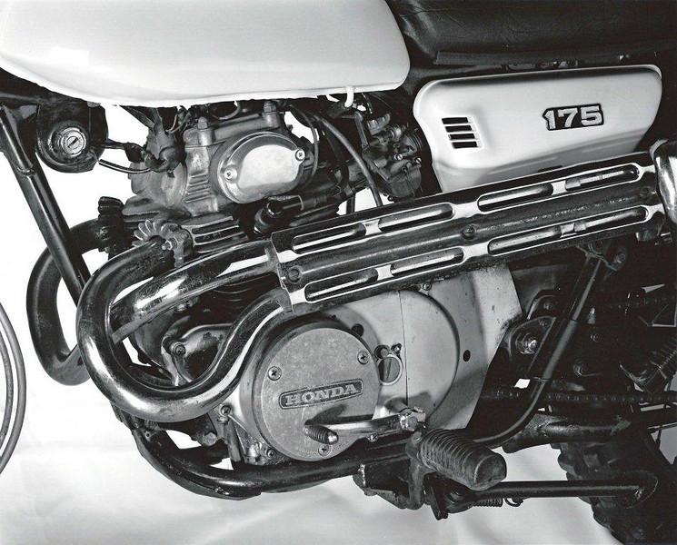 1972 Honda 175 Scrambler