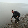 """Yee haaaaa - The Arctic Ocean at Prudoe Bay Alaska.  The water was extremely cold and ice blocks could be seen just 100 feet from the shoreline.  Air tempature was 33 degrees and my motorcycle clothes was not keeping me warm.   But another ckeck mark on my bucket list.  <br><small><a href=""""http://maps.google.com/maps?f=q&hl=en&geocode=&q=70.31366,-148.31657&ie=UTF8&om=1&t=h&vpsrc=6&source=embed&ll=70.31366,-148.31657&spn=0.003824,0.01605&z=14"""" style=""""color:#0000FF;text-align:left"""">View Larger Map</a></small>"""