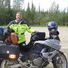 This Honda Varadero rider is also heading to Alaska, Haines Alaska
