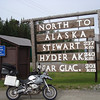 "The ride has been wet & cold so far but I have reached Kitwanga just west of Prince George.  Kitwanga is a popular food & gas stop on this route.  I will fuel up, turn right and  head up the Steward Cassier Highway.  I am very much looking forward to this section and visit Bear Glacier CA,  Stewart CA, and Hyder AK USA.  http://www.stewartcassiar.com/trip-planning/maps/  <br><small><a href=""http://maps.google.com/maps?f=q&source=embed&hl=en&geocode=&q=Kitwanga,+British+Columbia,+Canada&aq=1&sll=37.160317,-95.712891&sspn=36.968024,76.992187&ie=UTF8&hq=&hnear=Kitwanga,+Kitimat-Stikine+Regional+District,+British+Columbia,+Canada&ll=55.096051,-128.076357&spn=0.026128,0.075188&z=14"" style=""color:#0000FF;text-align:left"">View Larger Map</a></small>"