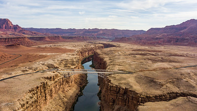 Vermillion Cliffs and Colorado River
