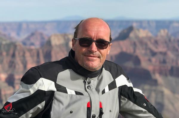 Ronald at the Grand Canyon North Rim