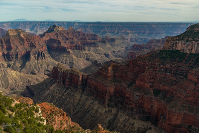 Grand Canyon from the North Rim