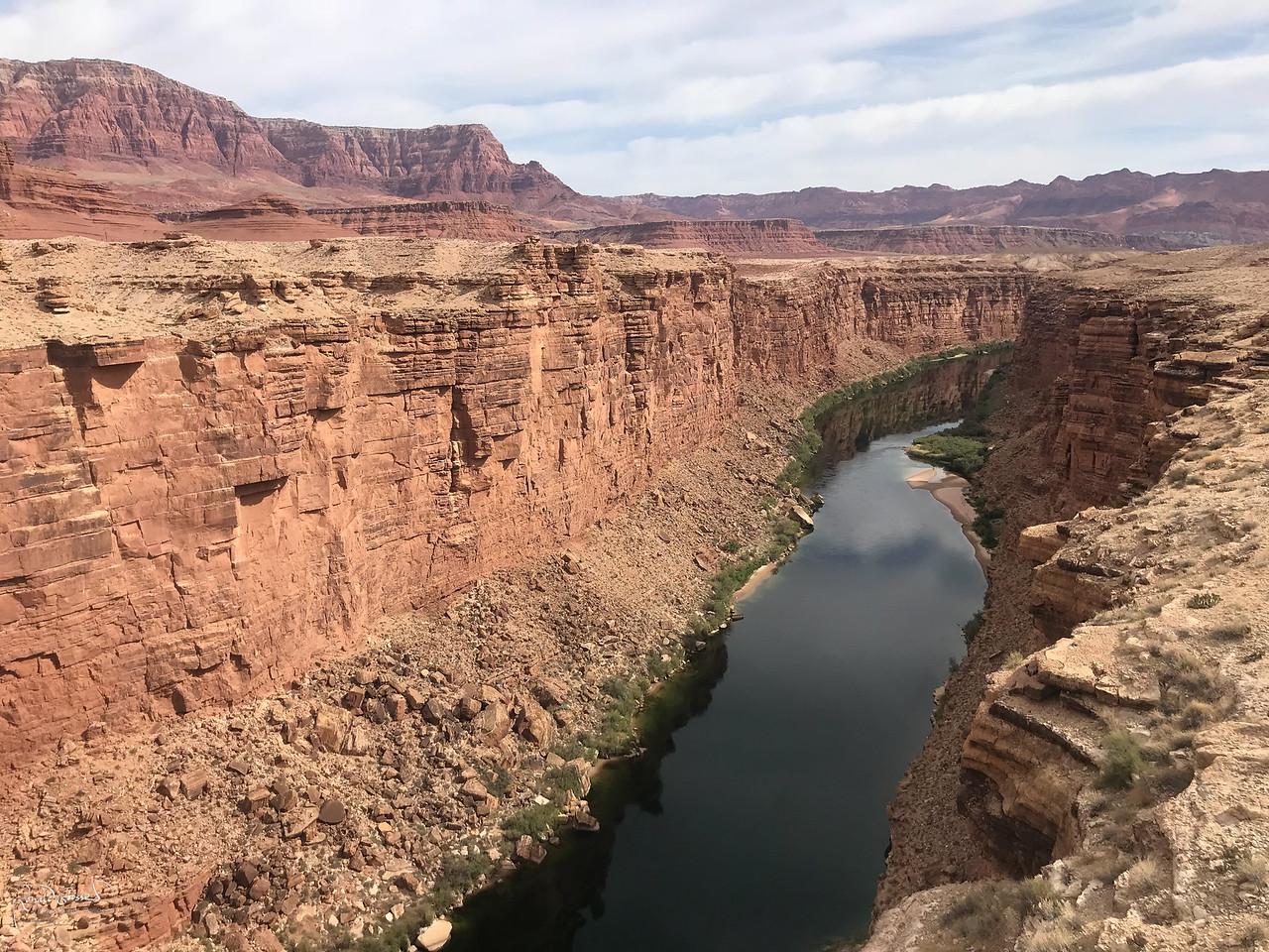 Colorado River and Vermillion Cliffs