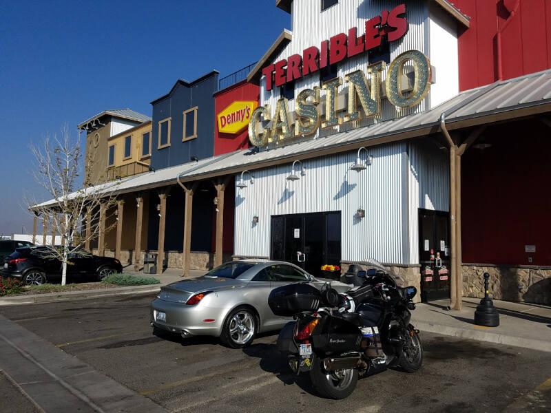 Nevada fuel stop