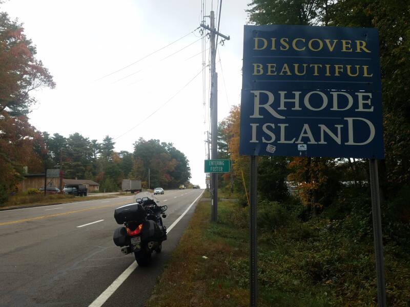 Rhode Island state line