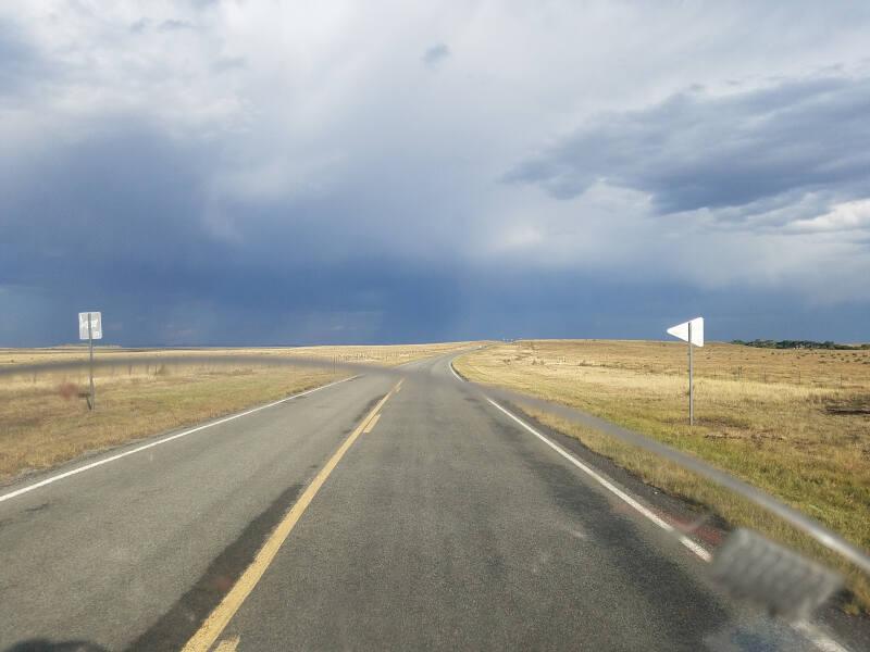 NM 58 near Cimarron