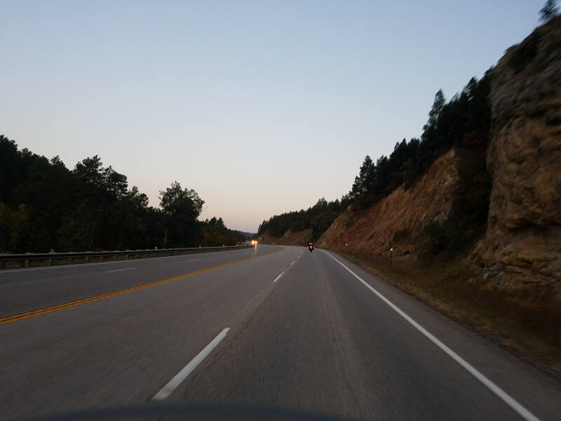 US 14A in Black Hills NF