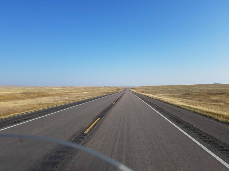 open highway 85 in SD