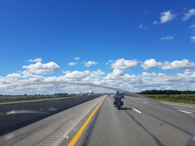 I-90 in Ohio