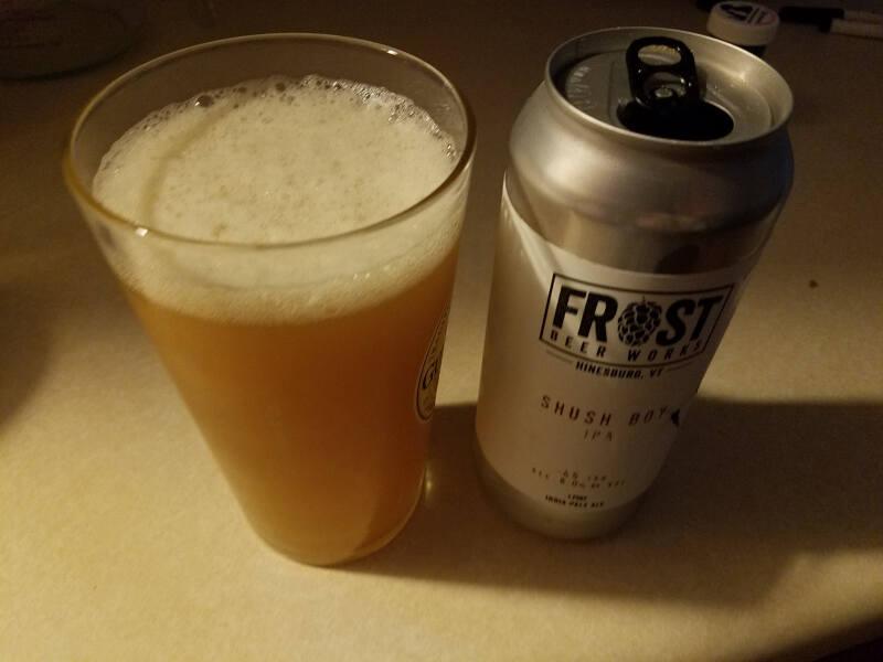 Frost Shush Boy IPA