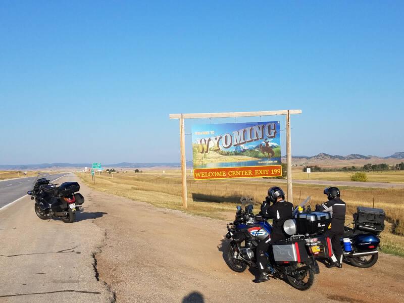 Wyoming state line