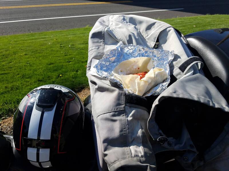 breakfast burrito to go