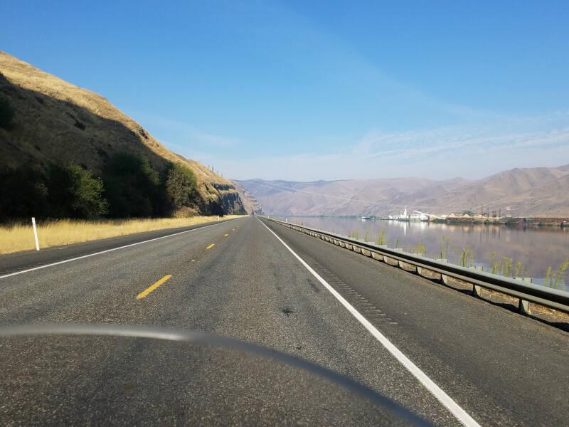 US 12 along Snake River