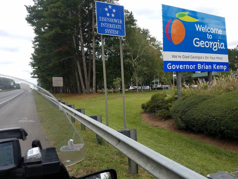 Georgia state line