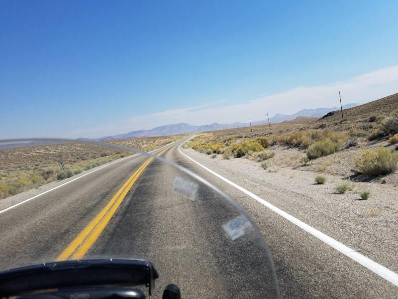 US 6 in Nevada