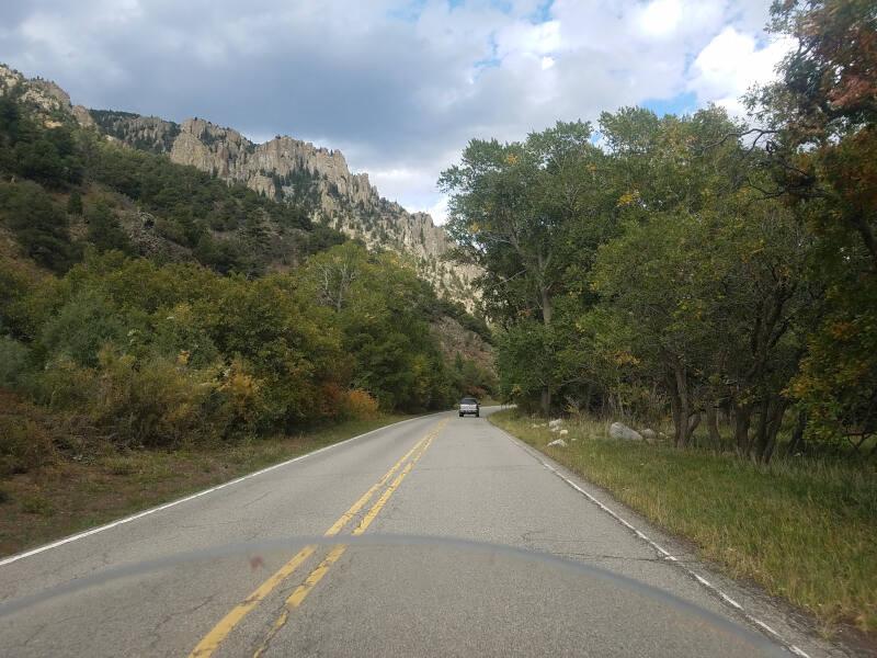 Cimarron Canyon State Park on US 64