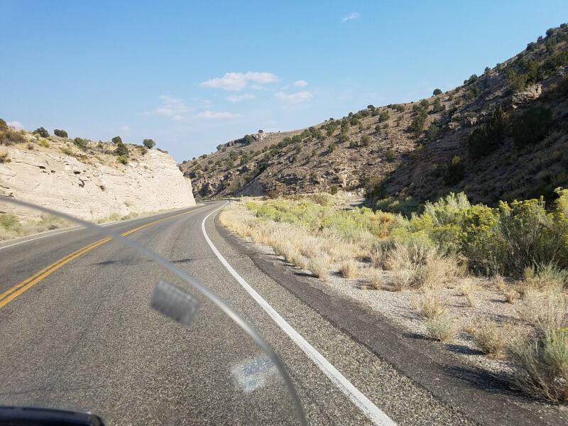 US 93 in Nevada