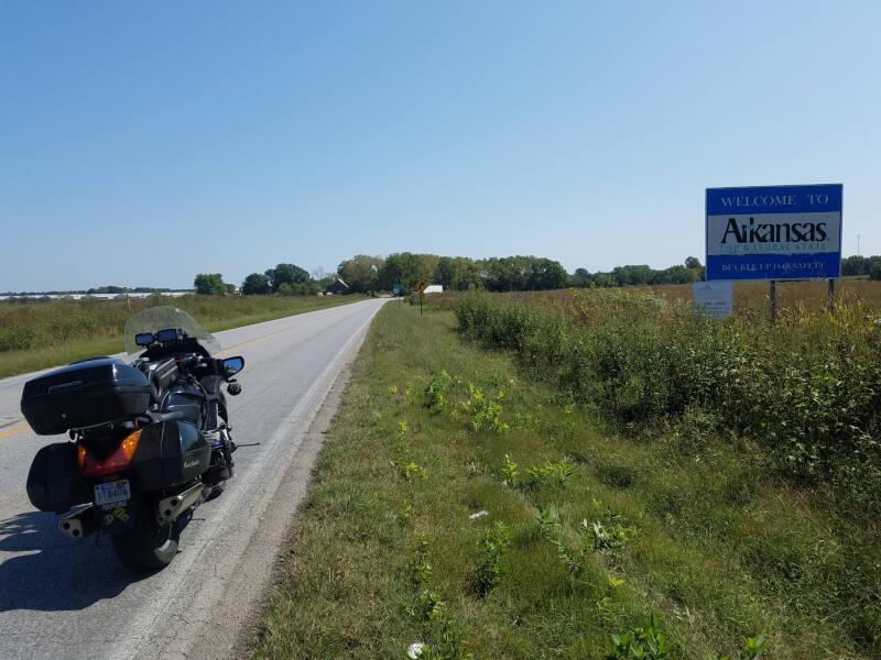 Arkansas state line