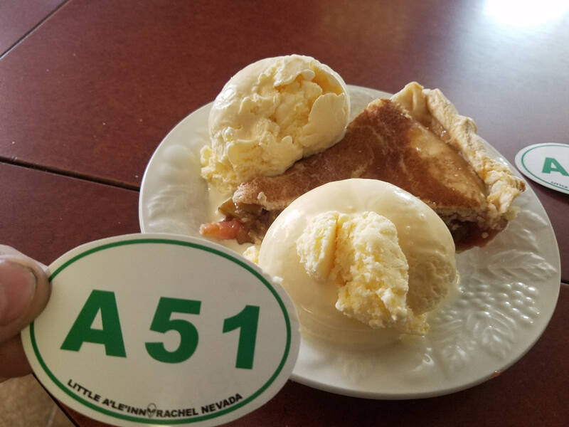 pie at Little A'Le'Inn