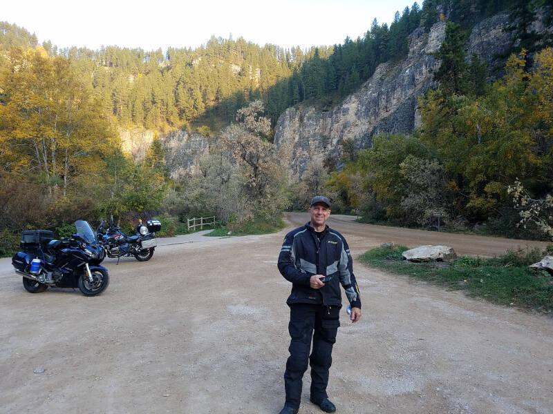 Ken at Roughlock Falls