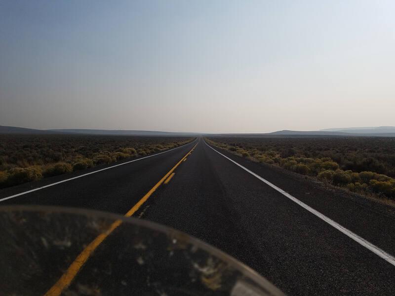 US 395 near Burns OR