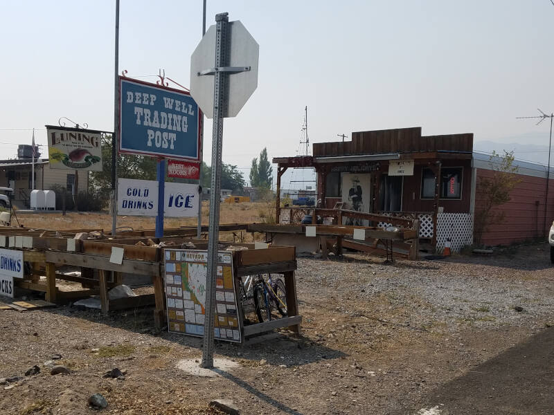 Deep Well Trading Post in Luning NV