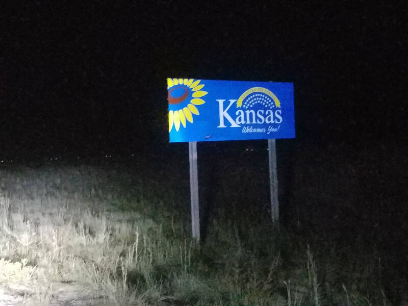 Kansas state line